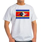 Swaziland Flag Light T-Shirt