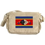Swaziland Flag Messenger Bag