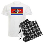 Swaziland Flag Men's Light Pajamas