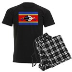 Swaziland Flag Men's Dark Pajamas