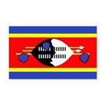 Swaziland Flag 22x14 Wall Peel