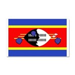 Swaziland Flag Car Magnet 20 x 12