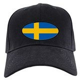 Sweden Flag Baseball Cap