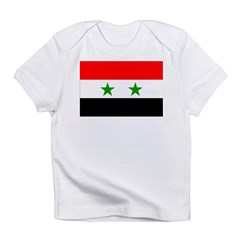 Syria Flag Infant T-Shirt