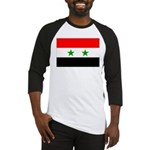Syria Flag Baseball Jersey