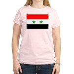 Syria Flag Women's Light T-Shirt