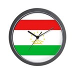 Tajikistan Flag Wall Clock