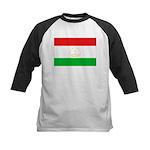 Tajikistan Flag Kids Baseball Jersey