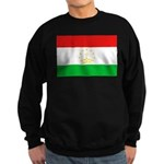 Tajikistan Flag Sweatshirt (dark)