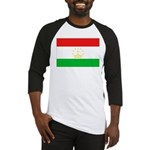 Tajikistan Flag Baseball Jersey