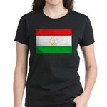 Tajikistan Flag Women's Dark T-Shirt