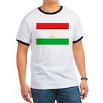 Tajikistan Flag Ringer T