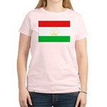 Tajikistan Flag Women's Light T-Shirt