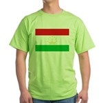 Tajikistan Flag Green T-Shirt