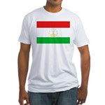 Tajikistan Flag Fitted T-Shirt