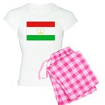 Tajikistan Flag Women's Light Pajamas