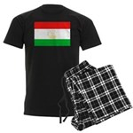 Tajikistan Flag Men's Dark Pajamas