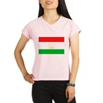 Tajikistan Flag Performance Dry T-Shirt