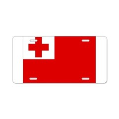 Tonga Flag Aluminum License Plate