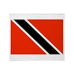 Trinidad and Tobago Flag Throw Blanket