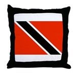 Trinidad and Tobago Flag Throw Pillow