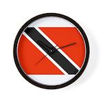 Trinidad and Tobago Flag Wall Clock