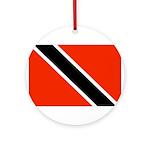 Trinidad and Tobago Flag Ornament (Round)