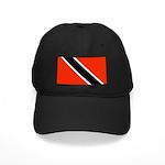 Trinidad and Tobago Flag Black Cap