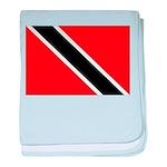 Trinidad and Tobago Flag baby blanket