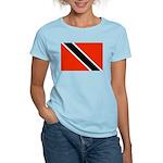 Trinidad and Tobago Flag Women's Light T-Shirt