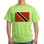 Trinidad and Tobago Flag Green T-Shirt
