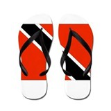 Trinidad and Tobago Flag Flip Flops