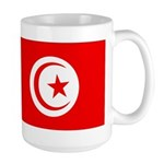 Tunisia Flag Large Mug