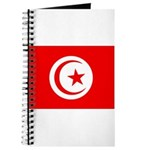 Tunisia Flag Journal