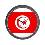 Tunisia Flag Wall Clock