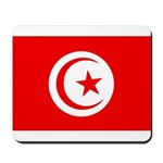 Tunisia Flag Mousepad