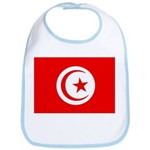 Tunisia Flag Bib