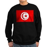Tunisia Flag Sweatshirt (dark)