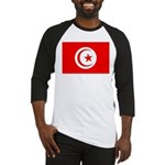 Tunisia Flag Baseball Jersey