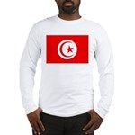 Tunisia Flag Long Sleeve T-Shirt