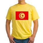 Tunisia Flag Yellow T-Shirt
