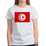 Tunisia Flag Women's T-Shirt