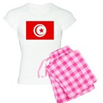 Tunisia Flag Women's Light Pajamas