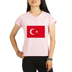 Turkey Flag Performance Dry T-Shirt