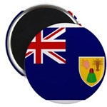Turks and Caicos Flag Magnet