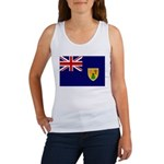 Turks and Caicos Flag Women's Tank Top