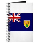 Turks and Caicos Flag Journal