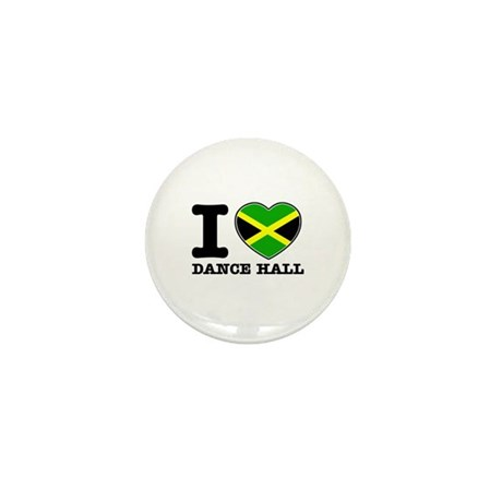I love Dance Hall Mini Button (100 pack)