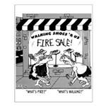 What's Fire? What's Walking Small Poster