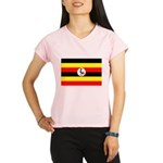Uganda Flag Performance Dry T-Shirt
